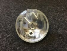 "Genuine Lucas 7"" Headlight Headlamp Beam unit with Pilot hole bsa triumph norton"