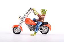 Frog on motorcycle trinket box LIMITED EDITION - Keren Kopal & Austrian crystals