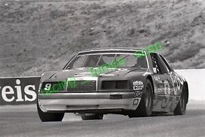 1984 NASCAR racing photo negative Bill Elliott Riverside, California