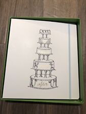Nib Kate Spade Ny Wedding Cake Happily Ever After Bridal Planner