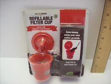 Mochamate Refillable Filter cup, Nib Keurig K-cup coffee tea mocha, Bpa free New