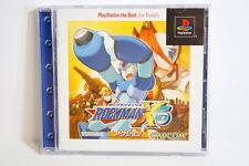 Rockman X5 the Best W/ Spine Mega Man PS1 PS PlayStation Japan Import US Seller