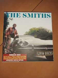 The Smiths Singles Box Vinyl like new Numbered Limited edition
