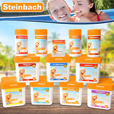 Steinbach Pooldesinfektion Chlor tabs Multi Chlorgranulat Ph Minus Plus Algezid