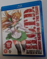 Highschool of the Dead Blu Ray Complete Series + OVA Region B/2