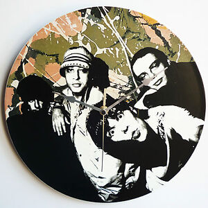 """The Stone Roses Single Artwork Collection - 12"""" LP Vinyl Record Wall Clocks"""