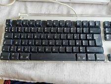 clavier azerty PRO KEYBOARD APPLE model M 7803 NOIR  testé 100% FONCTIONNEL