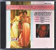 Great Romantic Symphonies  -  BERNSTEIN   Doppel CD