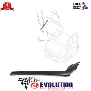 WINDSCREEN MOULDING TRIM RH / RIGHT / DRIVER SIDE FITS FORD TRANSIT, 4621064