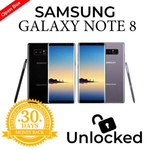 Samsung Galaxy Note 8 - 64GB Black Gray Unlocked AT&T Verizon T-Mobile Metro