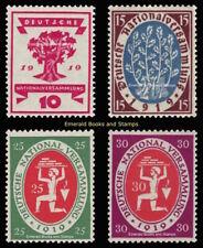 EBS Germany 1919 National Assembly Weimar Nationalversammlung Michel 107-110 **