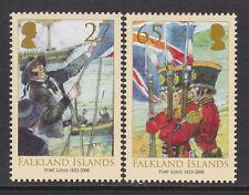 Isole Falkland 2008 175th ANNIV. Port Louis SG 1109-1110 MNH.
