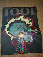 Tool Poster Washington DC NOV 25TH 2019 concert tour limited edition holographic