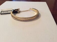 $58 Vince Camuto Gold Two Layer Bangle Bracelet VC-10