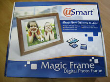 "Usmart Magic Frame Digital Photo Frame DPF-M15 10.4"" Display (Boxed) (Used)"