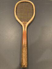 Uncommon Fairfax Tennis Racquet With Inlaid Cork Handle