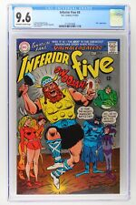 """Inferior Five #4 - DC 1967 CGC 9.6 """"Thor"""" Appearance - HIGHEST GRADE!"""