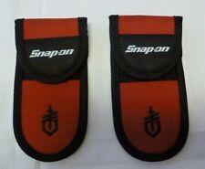 "(2)Snap-on Multi Tool Sheath 6 1/4"" x 3 1/8""  Nylon with Belt Strap New"