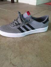 new concept 7ac3a a744a Adidas Skateboarding Lucas Puig Adv Premier Solid Grey  Core Black  White  Size 8