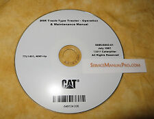 SEBU6892 CAT Caterpillar D9R Track Type Tractor Operation Maintenance Manual CD