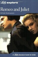 Romeo and Juliet (Letts Explore GCSE Text Guides), Mahoney, John, Good Used  Boo