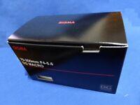 Sigma 70-300mm f/4-5.6 DG Macro Telephoto Zoom Lens for Nikon SLR Camera New