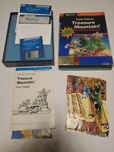 Treasure Mountain - Learning Company- IBM / Tandy Reading Thinking Game 1991