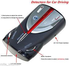 Car Driving 16-Band Radar Detector XRS 9880 Laser Anti Radar Detector 360° Black
