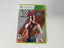 WWE 2K15 (Microsoft Xbox 360, 2014) Complete
