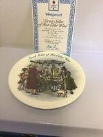 """Vintage Wedgwood Street Sellers Plate """"Street Seller of Hot Elder Wine"""" Boxed"""