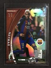 2016-17 Panini WCCF World Class Neymar Barcelona refractor card