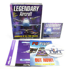 LEGENDARY AIRCRAFT Pc Add-On Microsoft Flight Simuator Sim 2000 FS2000 BIG BOX
