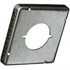 Hubbell-Raco 878 1/2-Inch Raised Square Cover with 2.14-Inch Diameter 30-50 Amp