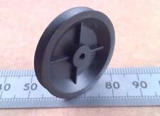 Qty 5 : 30mm Diameter Miniature Model Belt Pulley Wheel for 2mm Motor Shafts