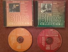 "THE BLUES COLLECTION Buddy Guy""Stone Crazy"" & Robert Johnson ""Red Hot Blues"" CDs"