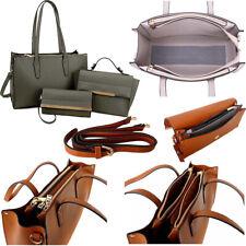 Ladies Grey Designer Large Tote Bag Work Handbag Laptop Briefcase Office School