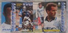 Away Teams C-E Everton Premiership Football Programmes