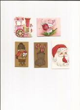 Lot Vintage Hallmark Cards 1970s Christmas Gift Tags Present 17 pc  ~ NOS