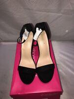 Womens Shoedazzle  Black Dress Sandals Size 10