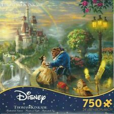 Thomas Kinkade Disney Beauty & the Beast Falling In Love Ceaco 750 Piece Puzzle