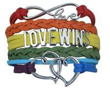 LGBT Bracelet, LGBT Pride Jewelry, Rainbow Pride Bracelet & Lesbian Giftft