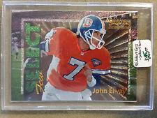 1995 Select Certified Select Few #13 John Elway /2250 : Denver Broncos