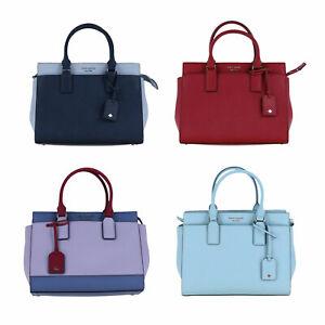 Kate Spade New York Purse Cameron Medium Satchel Handbag Adjustable Strap New