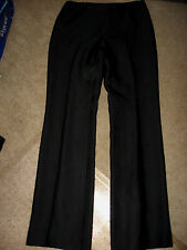 Womens Black ANN TAYLOR Lined Silk Pants 6