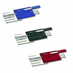 Victorinox Swiss Card - swisscard tool- various colours