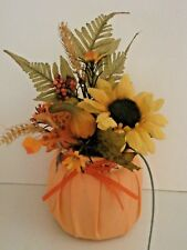 Fall, Thanksgiving Table Top Padded Floral Centerpeice
