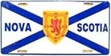 "Aluminum National Flag Nova Scotia Canada ""License Plate"" NEW"