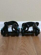 Razor Jetts Heel Wheels Skates Green And Black Shoe Attachments