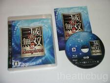 SONY PLAYSTATION 3 / PS3 ~ SHIN SANGOKU MUSOU 5 imperi ~ JAPANESE release ~ RPG