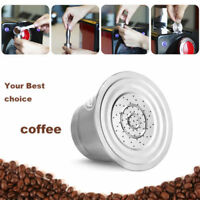 304 Stainless Steel Refillable Reusable Coffee Capsule Pod For Nespresso Coffee#